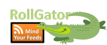 RollGator - Your Feeds Rolls over the wall
